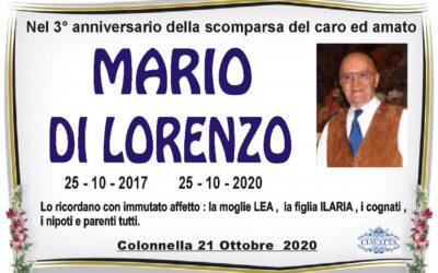 Anniversario Di Lorenzo Mario