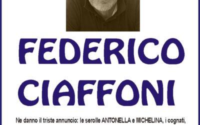 Lutto Ciaffoni Federico