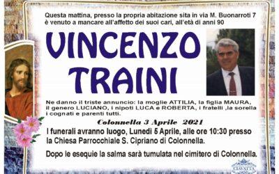Lutto Traini Vincenzo