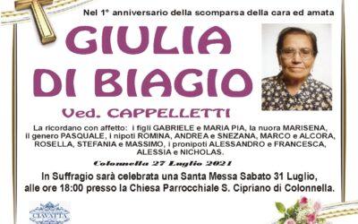 Anniversario Di Biagio Giulia