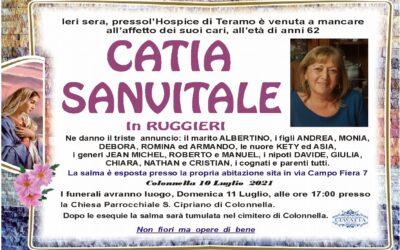 Lutto Sanvitale Catia